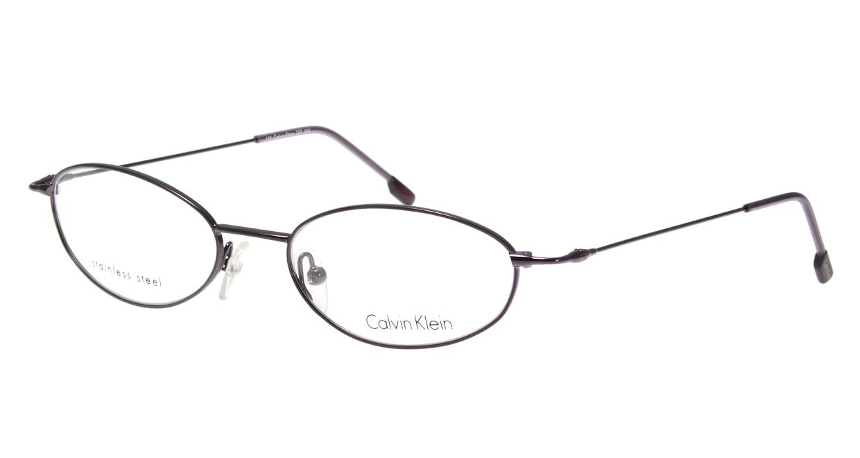 カルバンクライン CK287-505 [メタル/オーバル/紫]