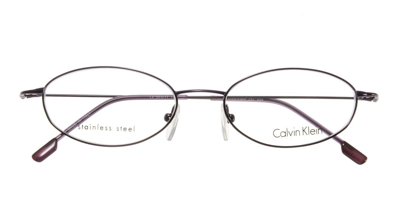 カルバンクライン CK287-505 [メタル/オーバル/紫]  3