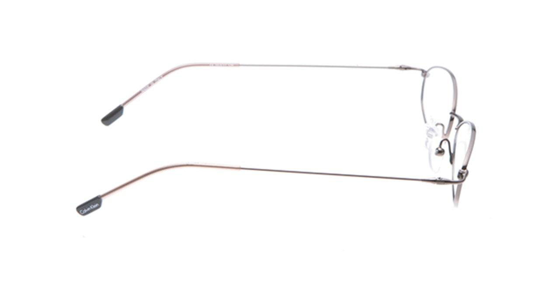 カルバンクライン CK287-551 [メタル/オーバル/茶色]  1