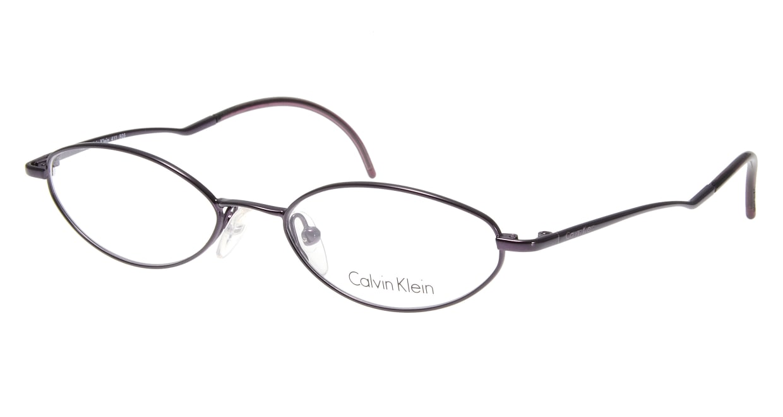 カルバンクライン CK411-505 [メタル/オーバル/紫]