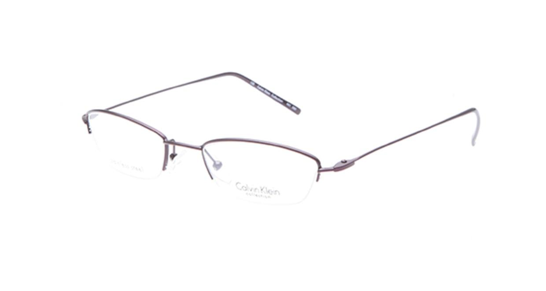 カルバンクライン CK441-580 [メタル/ハーフリム/スクエア/紫]