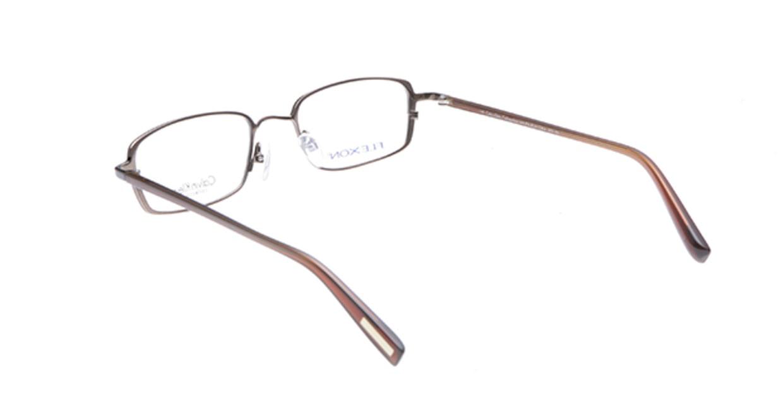カルバンクライン CK470-588 [メタル/スクエア/茶色]  2