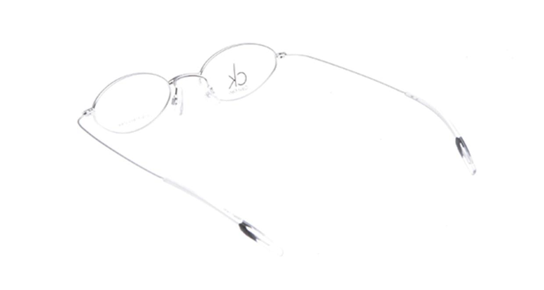 カルバンクライン CK5300-028 [メタル/オーバル/シルバー]  2