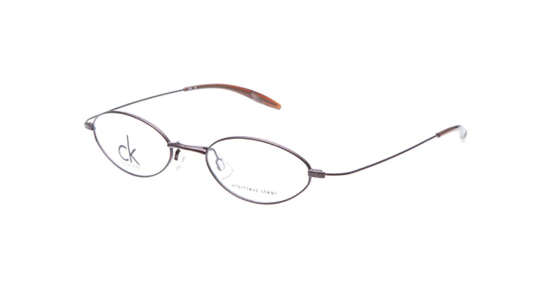 カルバンクライン CK5300-250 [メタル/オーバル/茶色]
