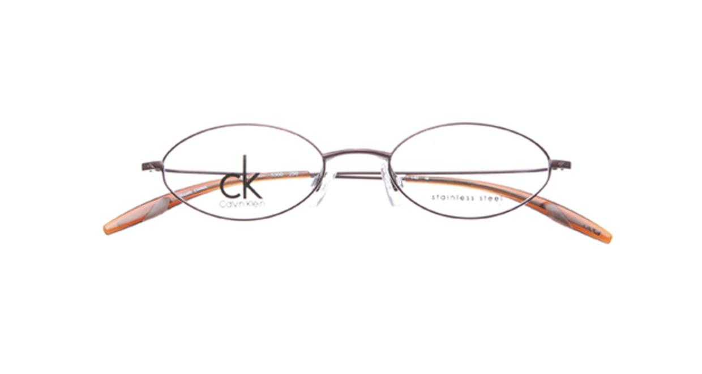 カルバンクライン CK5300-250 [メタル/オーバル/茶色]  3