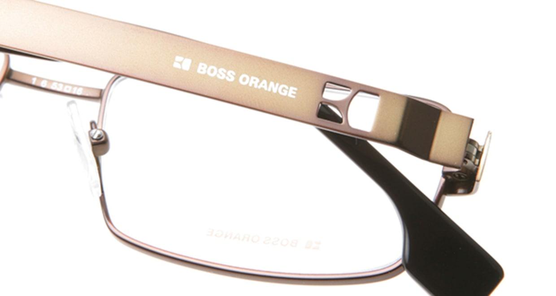 ボスオレンジ BO-0006-C6I [メタル/スクエア/ゴールド]  4