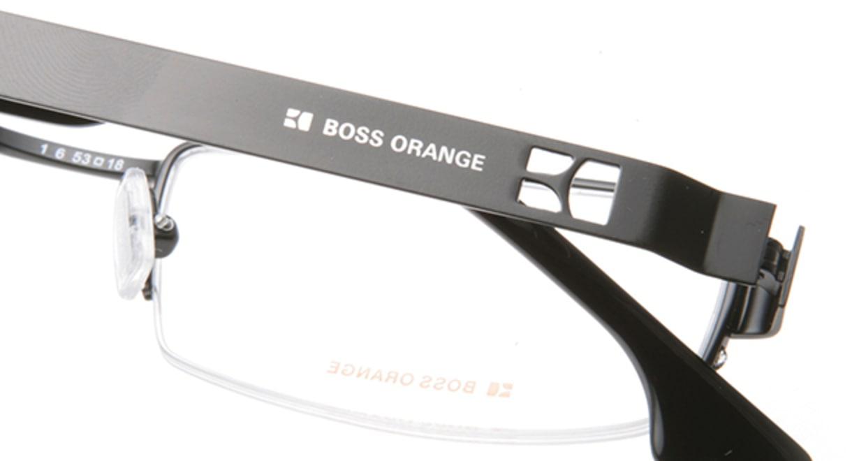 ボスオレンジ BO-0007-003 [メタル/ハーフリム/スクエア]  4