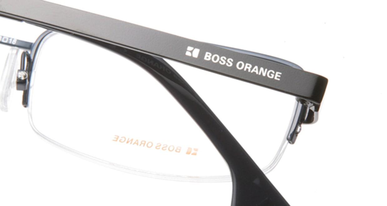 ボスオレンジ BO-0021-T4X [メタル/ハーフリム/スクエア/青]  4