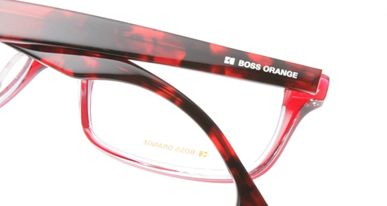 ボスオレンジ BO-0035-OT2 [スクエア/赤]  4
