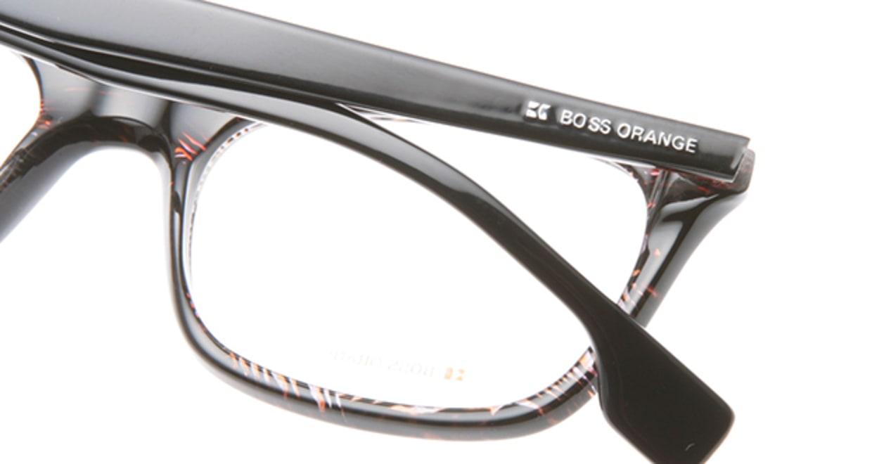 ボスオレンジ BO-0054-XDS [黒縁/スクエア]  4