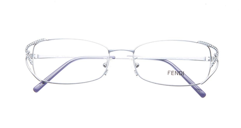 フェンディ FE711R-444 [メタル/スクエア/青]  3
