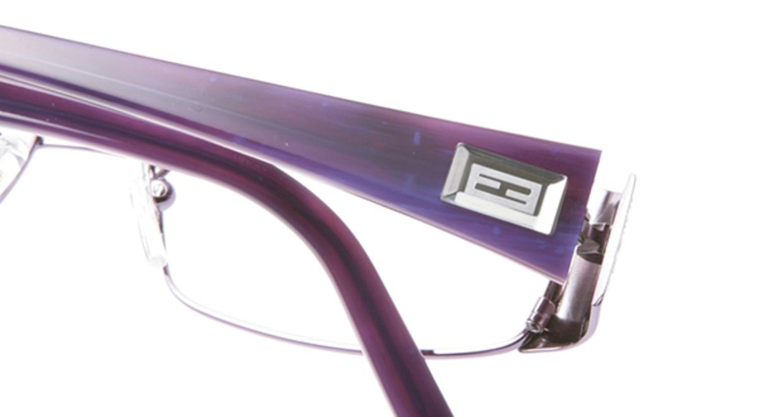フェンディ FE892-532 [メタル/スクエア/紫]  4
