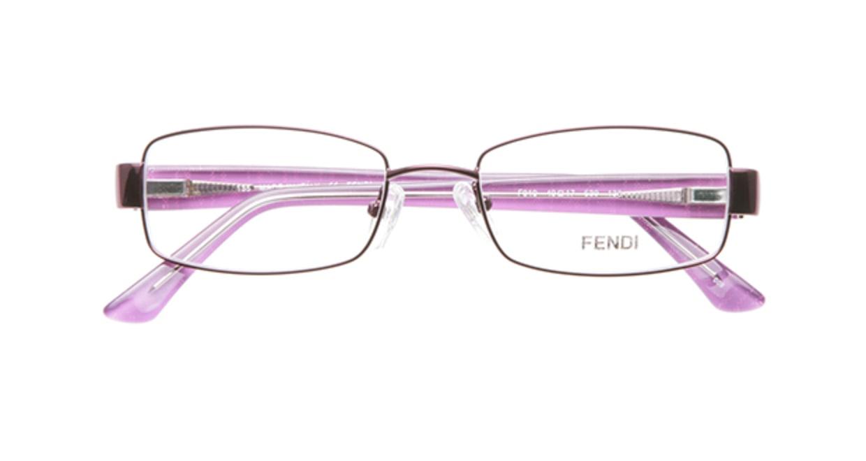 フェンディ FE910-539 [メタル/スクエア/紫]  3