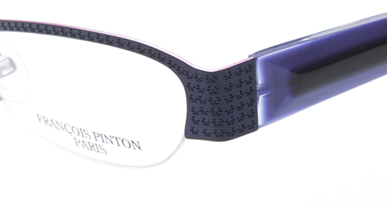 フランソワ パントン PB60-L800 [メタル/ハーフリム/フォックス/青]  4