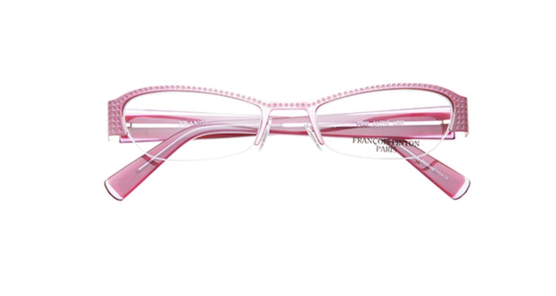 フランソワ パントン PB60-L801 [メタル/ハーフリム/フォックス/ピンク]  3