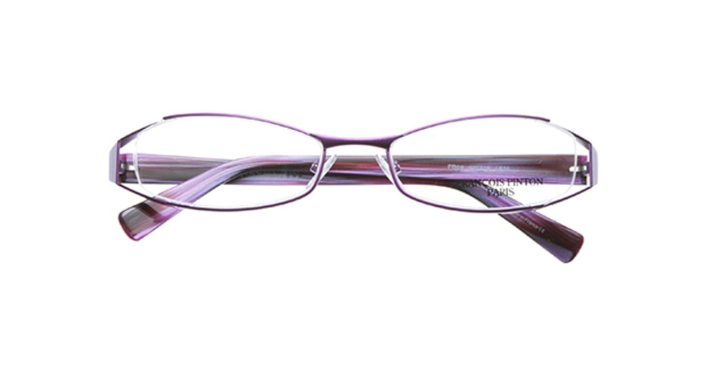 フランソワ パントン PB69-L816 [メタル/ハーフリム/スクエア/紫]  3