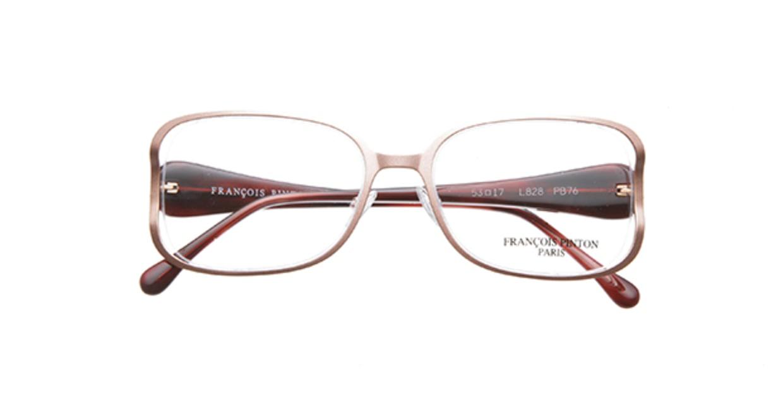 フランソワ パントン PB76-L828 [メタル/ハーフリム/バタフライ/肌色]  3