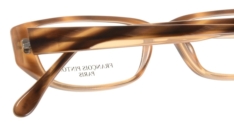 フランソワ パントン CARAMEL-D875 [スクエア/茶色]  4