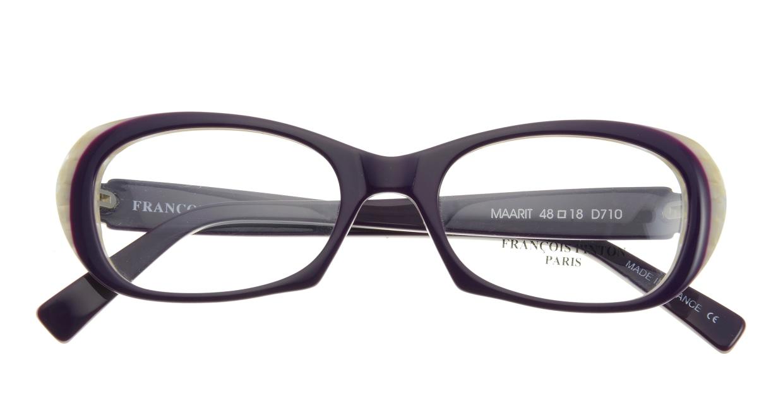 フランソワ パントン MAARIT-D710 [フォックス/紫]  3