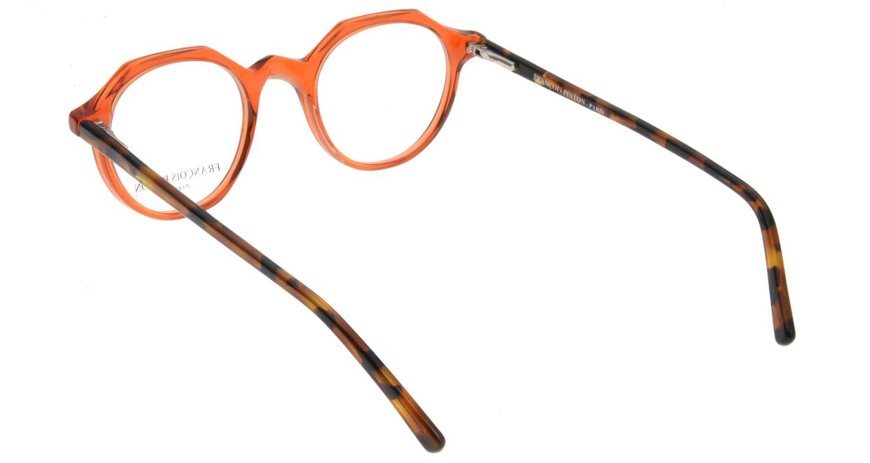 フランソワ パントン PASSEPORT38-PD86 [丸メガネ/オレンジ]  2