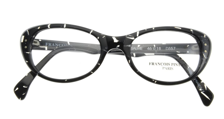 フランソワ パントン SALME-D357 [黒縁/フォックス]  3