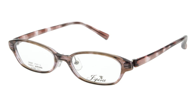 ジェイスピリット JS-2061-13 [鯖江産/スクエア/茶色]