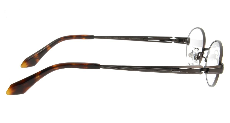 アミパリ TS-5110-4 [メタル/鯖江産/オーバル/茶色]  1