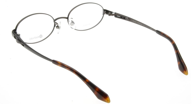 アミパリ TS-5110-4 [メタル/鯖江産/オーバル/茶色]  2