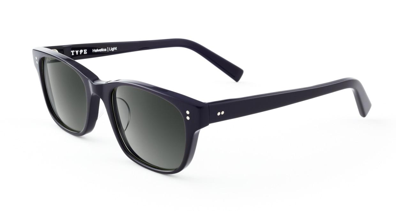 TYPE Helvetica Light-Black Sunglasses [ウェリントン]  2