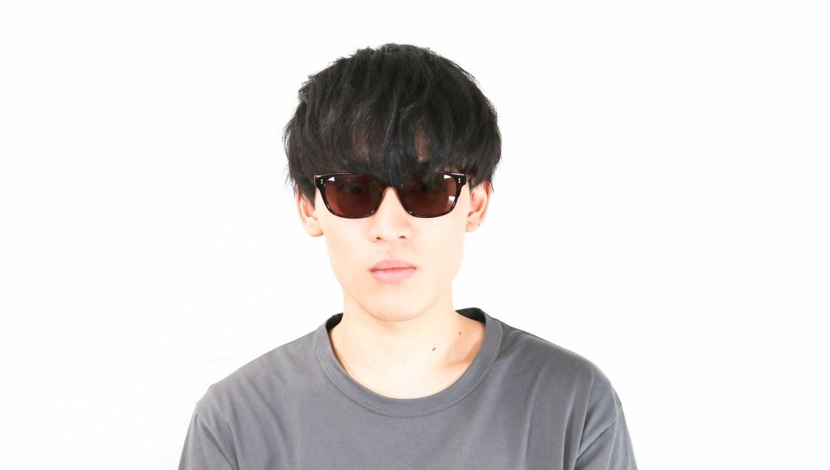 TYPE Helvetica Light-Tortoise Sunglasses [ウェリントン]  4