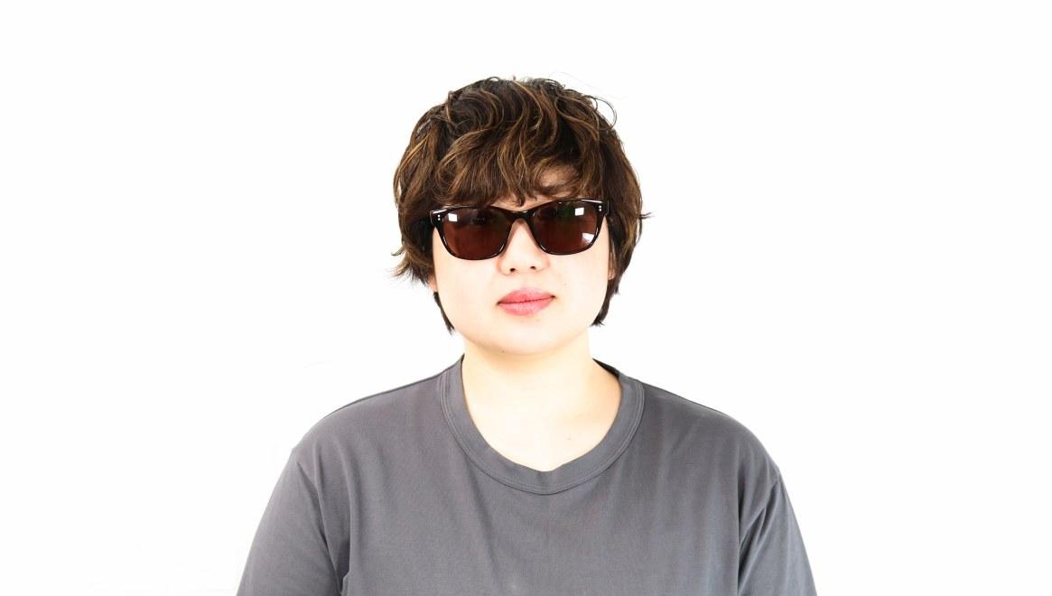 TYPE Helvetica Light-Tortoise Sunglasses [ウェリントン]  6