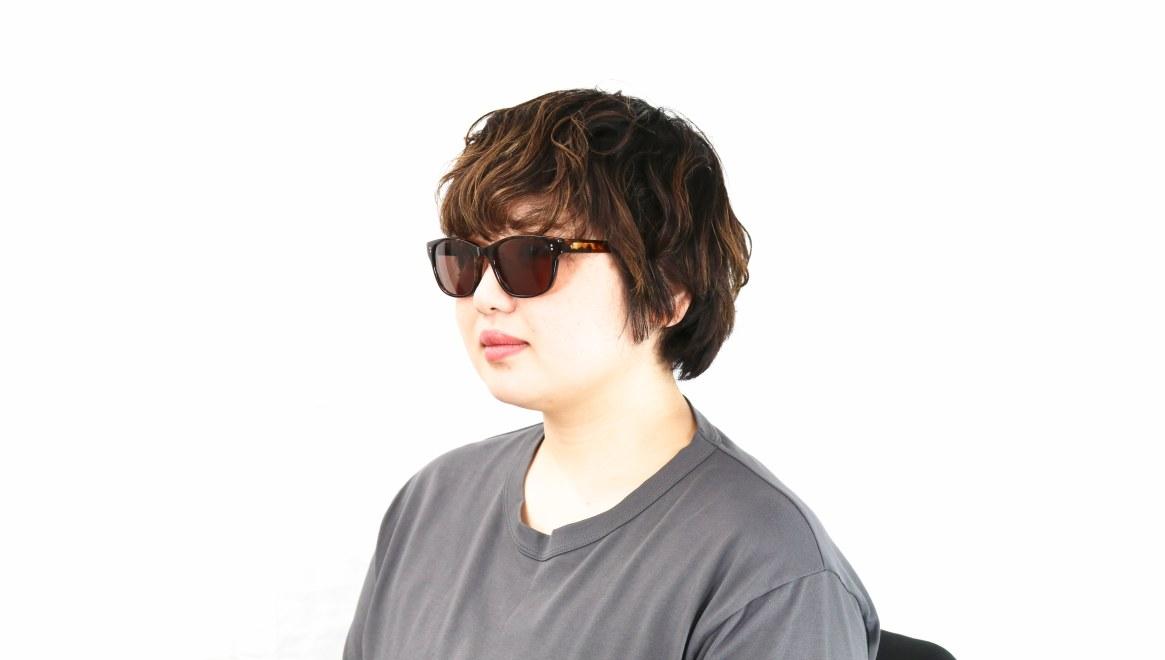 TYPE Helvetica Light-Tortoise Sunglasses [ウェリントン]  7