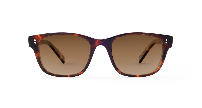 TYPE Helvetica Light-Tortoise Sunglasses [ウェリントン]