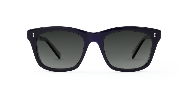 TYPE Helvetica Bold-Black Sunglasses [ウェリントン]