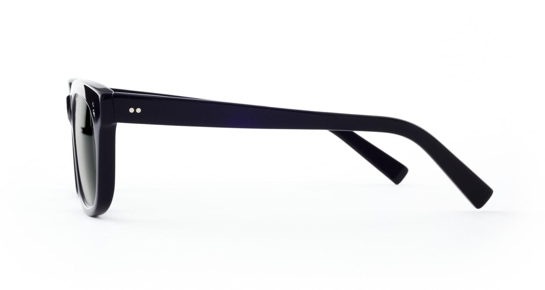 TYPE Helvetica Bold-Black Sunglasses [ウェリントン]  1
