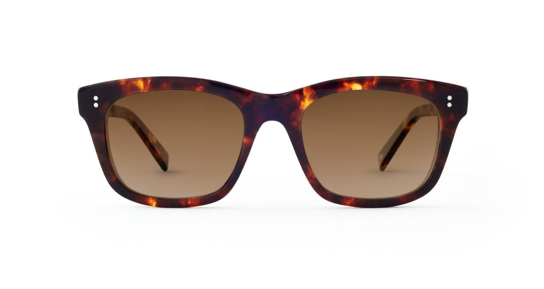 TYPE Helvetica Bold-Tortoise Sunglasses [ウェリントン]
