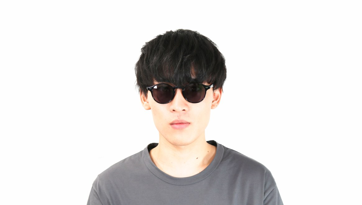 TYPE Garamond Light-Black Sunglasses [ラウンド]  4