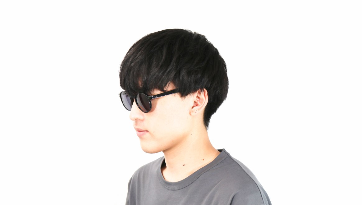 TYPE Garamond Light-Black Sunglasses [ラウンド]  5
