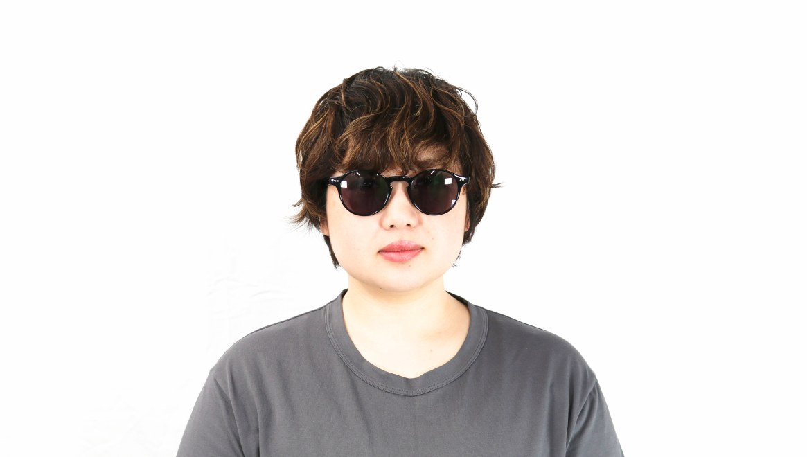 TYPE Garamond Light-Black Sunglasses [ラウンド]  6