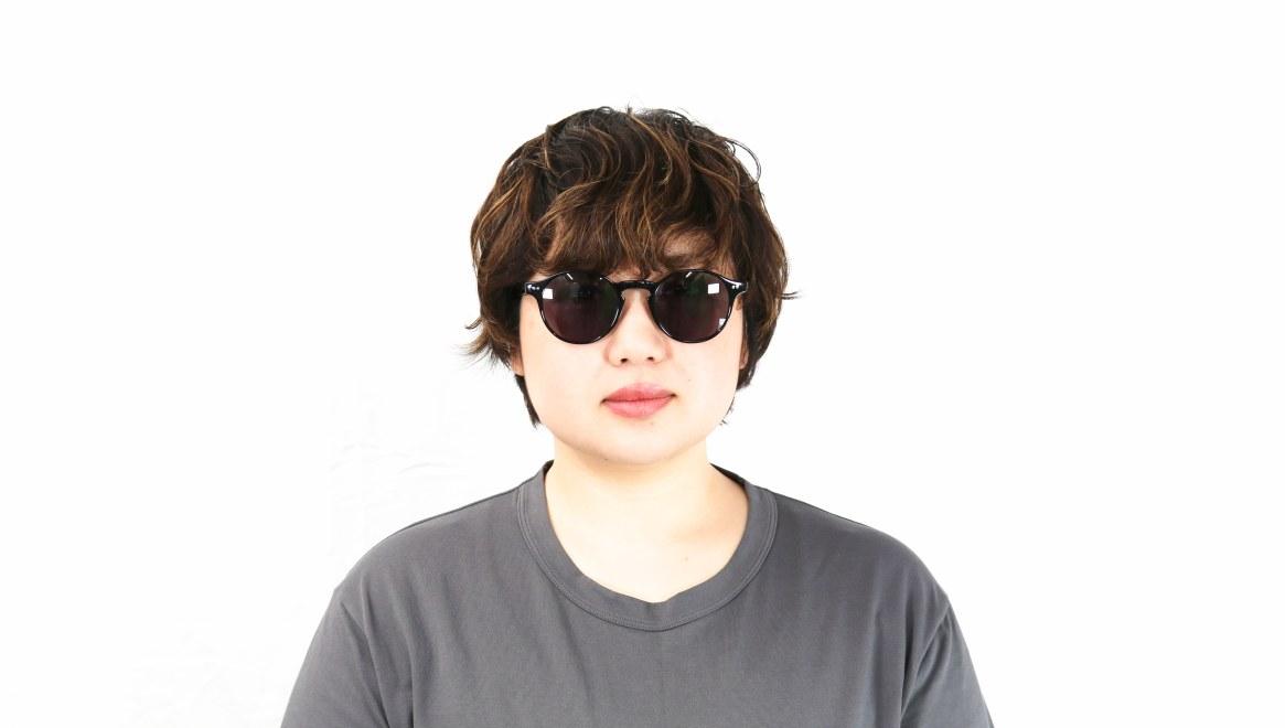 TYPE Garamond Light-Black Sunglasses [ラウンド]  6
