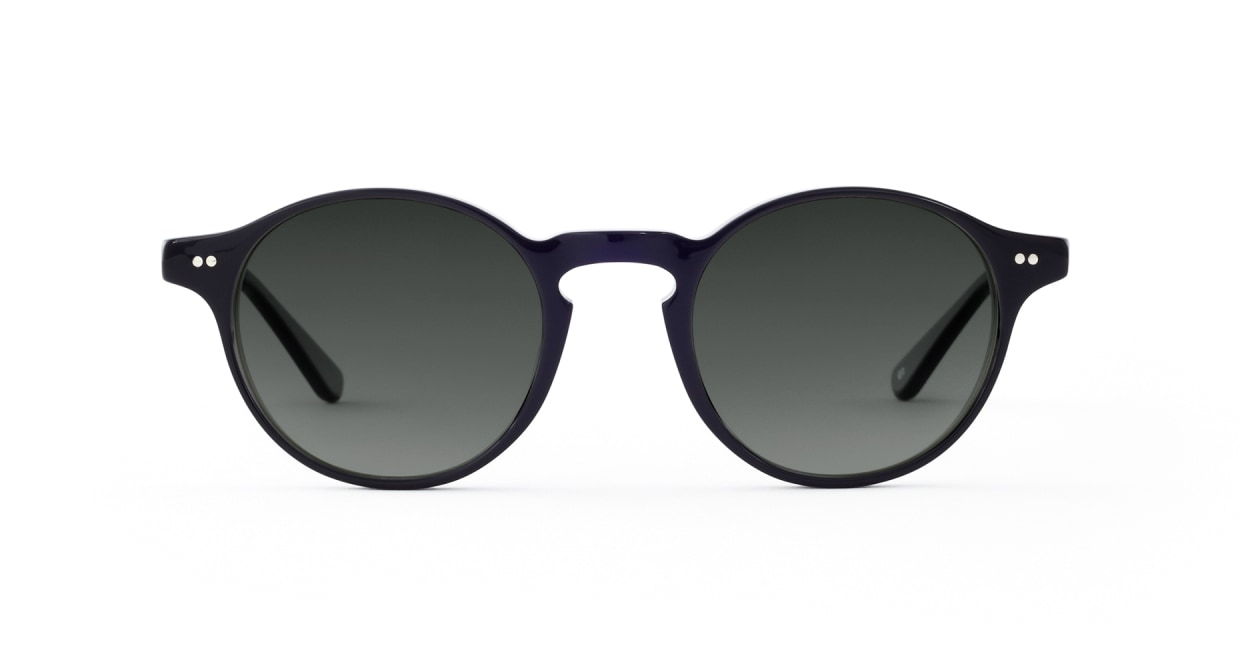 TYPE Garamond Light-Black Sunglasses [ラウンド]