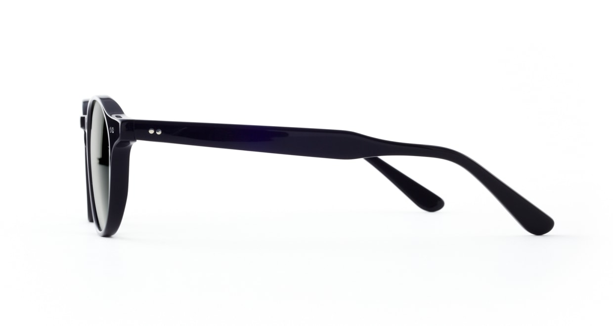 TYPE Garamond Light-Black Sunglasses [ラウンド]  1