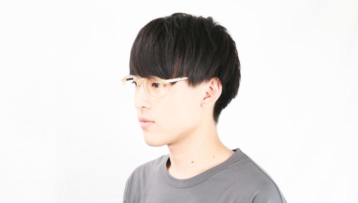 TYPE Garamond Light-Clear [丸メガネ/透明]  5