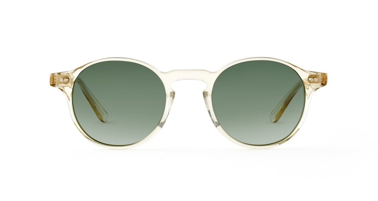 TYPE Garamond Light-Clear Sunglasses [ラウンド]