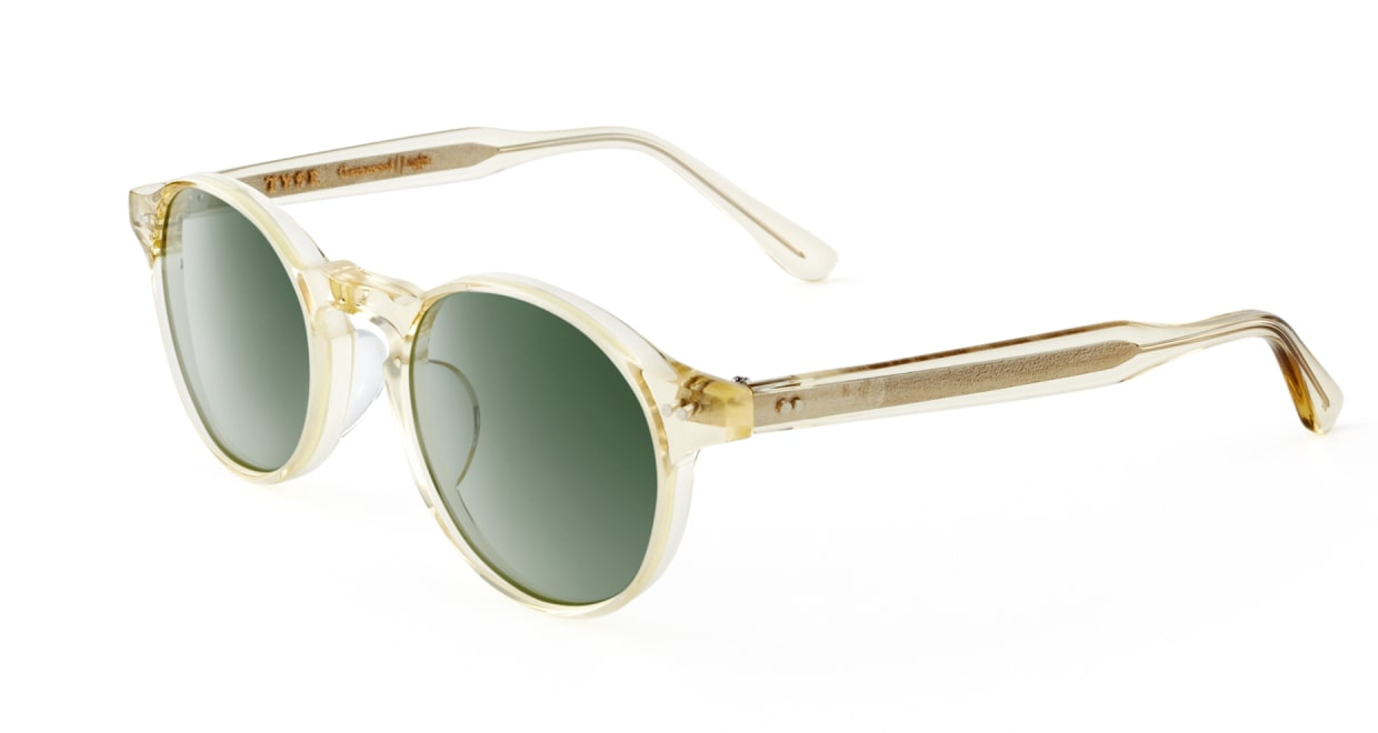 TYPE Garamond Light-Clear Sunglasses [ラウンド]  2