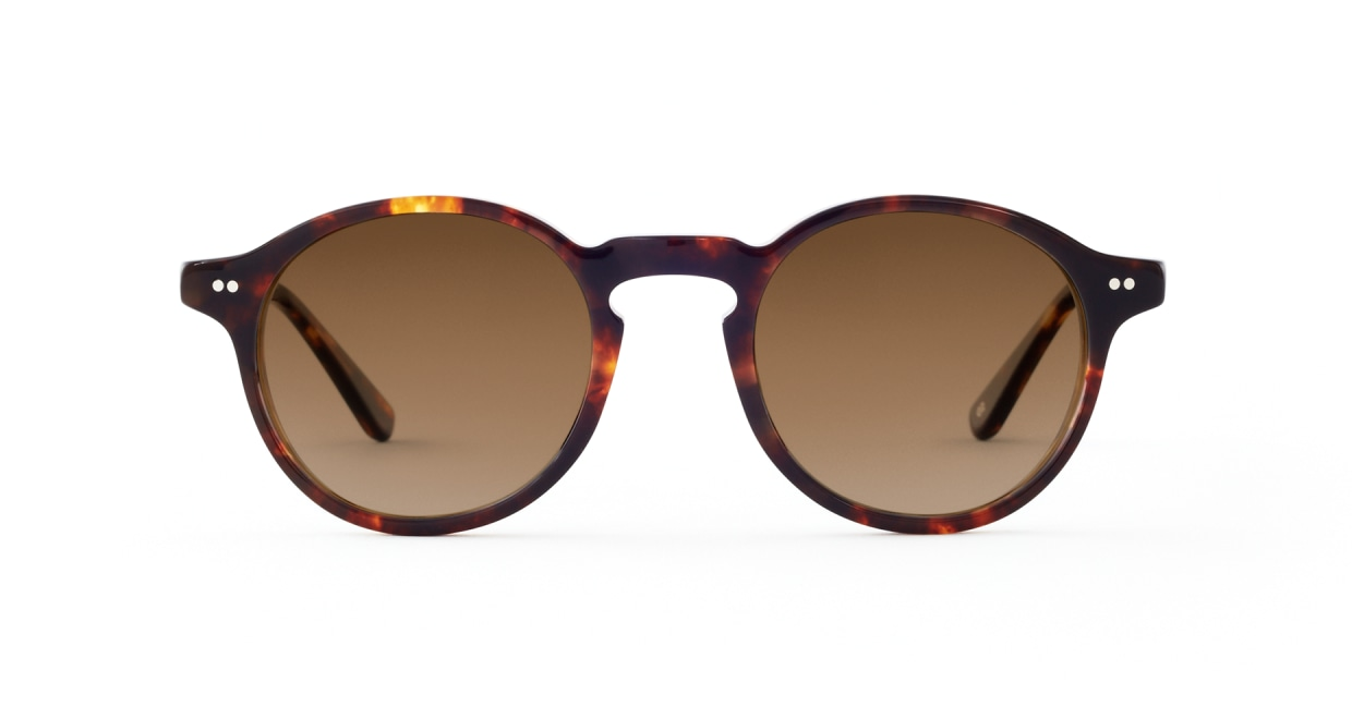 TYPE Garamond Regular-Tortoise Sunglasses [ラウンド]