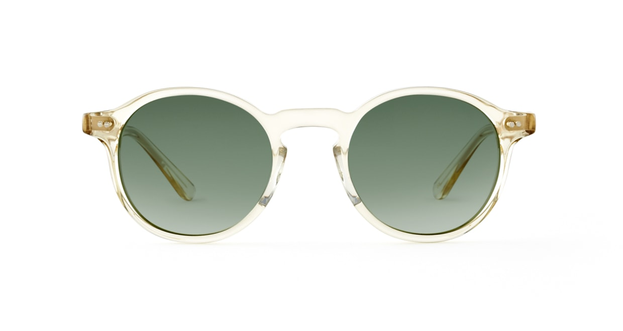 TYPE Garamond Regular-Clear Sunglasses [ラウンド]