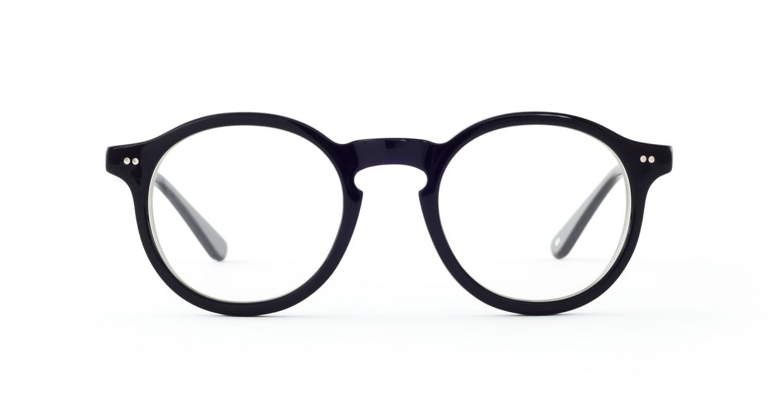 TYPE Garamond Bold-Black [黒縁/丸メガネ]