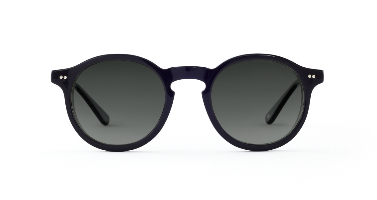 TYPE Garamond Bold-Black Sunglasses [ラウンド]
