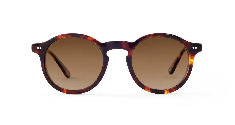 TYPE Garamond Bold-Tortoise Sunglasses [ラウンド]